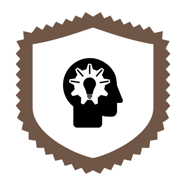"Badge icon ""Idea (6770)"" provided by The Noun Project under Creative Commons CC0 - No Rights Reserved"