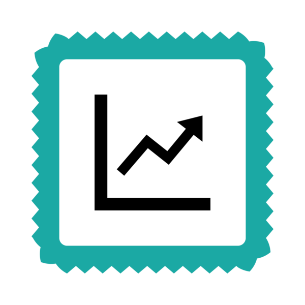 "Badge icon ""Line Graph (4503)"" provided by The Noun Project under Creative Commons CC0 - No Rights Reserved"